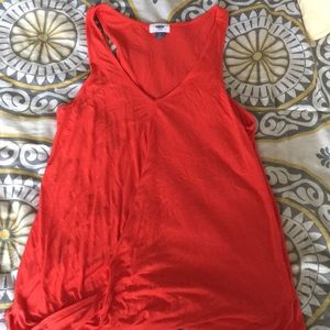 Old dressy sleeveless top women's large